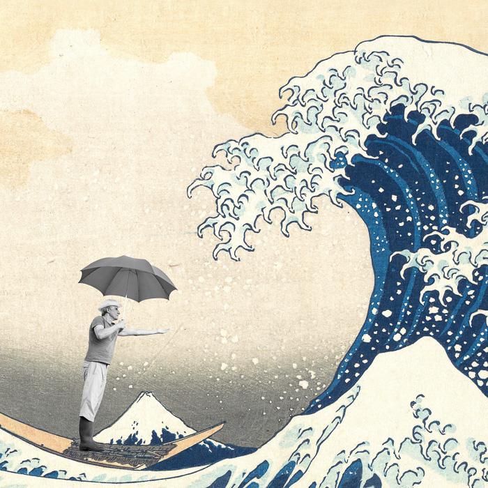 Monsieur-Panama-rencontre-Hokusai